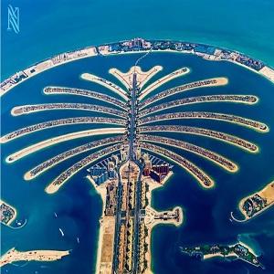 جاذبه های گردشگری دبی (جزیره پالم جمیرا)