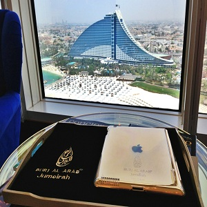 هتل برج العرب (آی پد طلا)