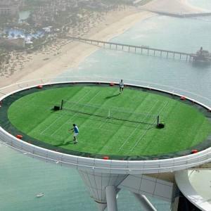 هتل برج العرب (زمین تنیس)