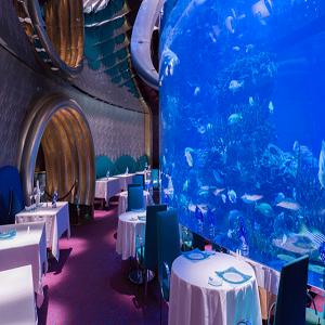 هتل برج العرب ( رستوران المهرا)