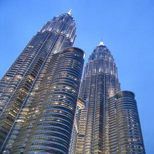 جاذبه های گردشگری مالزی (برج های دوقلوی مالزی)