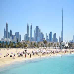 جاذبه های گردشگری دبی (پارک ساحلی جمیرا)