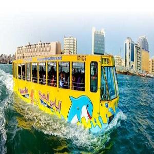 جاذبه های گردشگری دبی (اتوبوس شگفت انگیز)