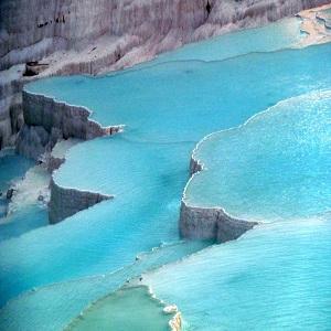 جاذبه های گردشگری آنتالیا، رودخانه پاموکاله