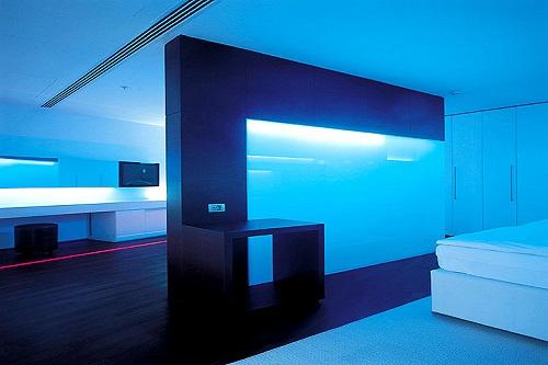 امکانات اقامتی هتل کروانسرای لارا آنتالیا (نور پردازی اتاق ها)