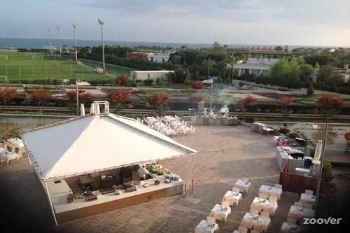 رستوران های هتل کروانسرای لارا آنتالیا (چادر Yuruk)