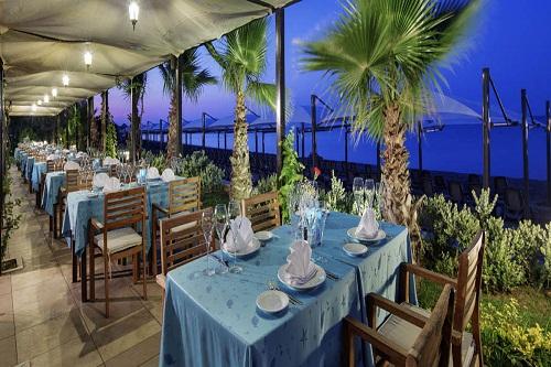 رستوران های هتل بلیس دلوکس بلک آنتالیا (رستوران Kalamata A'la Carte)