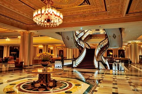 لابی هتل مردان پالاس آنتالیا Mardan Palace