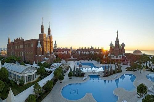 هتل وو کرملین آنتالیا WOW Kremlin Palace