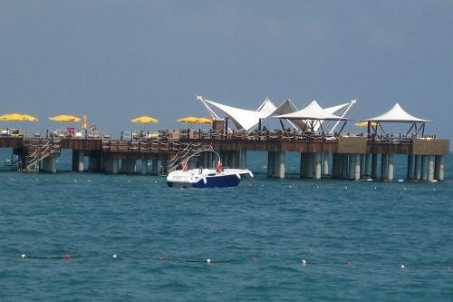 تفریحات ساحلی هتل مردان پالاس آنتالیا