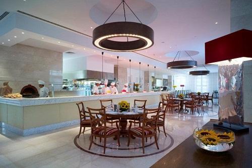 رستوران La Cucina Restaurant هتل مردان پالاس آنتالیا
