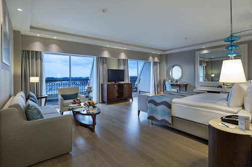 سوئیت های Deluxe Suite هتل تایتانیک دلوکس آنتالیا