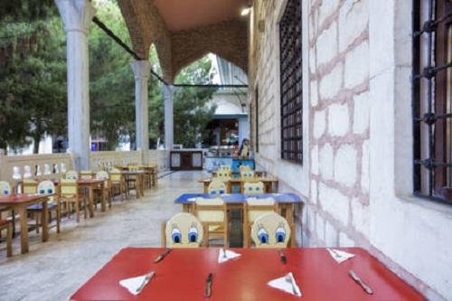 بخش کودکان در رستوران اصلی هتل وو کرملین