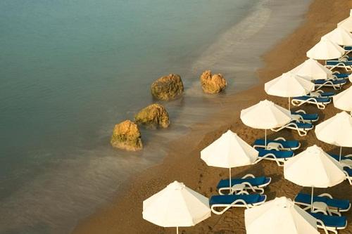ساحل اختصاصی هتل تایتانیک بیچ لارا آنتالیا Titanic Beach Lara