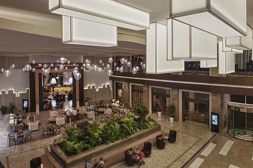 لابی ورودی هتل مکس رویال بلک آنتالیا