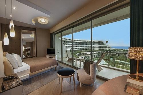 سوئیت های استاندارد هتل مکس رویال بلک آنتالیا
