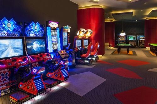 سالن بازی هتل مکس رویال بلک آنتالیا