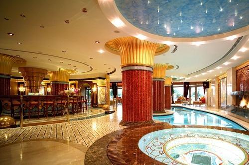 سالن ماساژ VIP و سلامت هتل مردان پالاس آنتالیا Mardan Palace