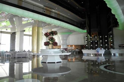 لابی ورودی و پذیرش هتل مکس رویال بلک آنتالیا