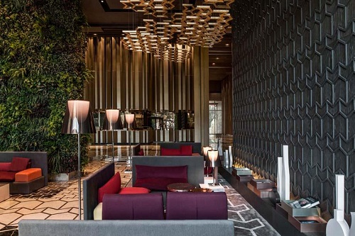 لابی هتل مکس رویال کمر آنتالیا