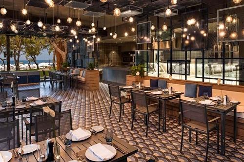 رستوران دریایی Azure Fish Restaurant هتل مکس رویال کمر آنتالیا