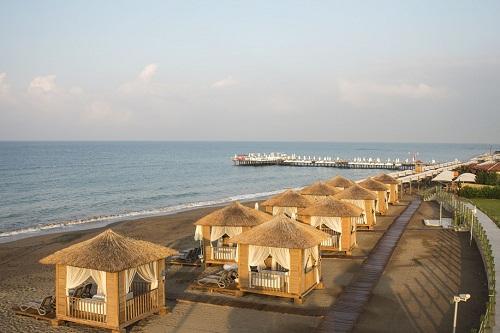 هتل بلیس دلوکس بلک آنتالیا (اتاقک های ساحلی VIP)