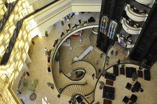 لابی هتل رویال پالم ریزورت کمر آنتالیا Royal Palm Resort