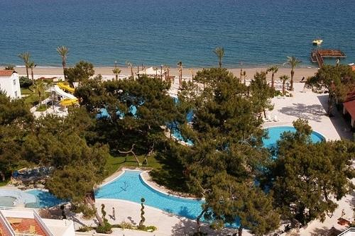 استخر های هتل رویال پالم ریزورت کمر آنتالیا Royal Palm Resort