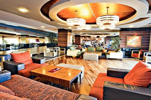 لابی هتل رویال وینگز آنتالیا