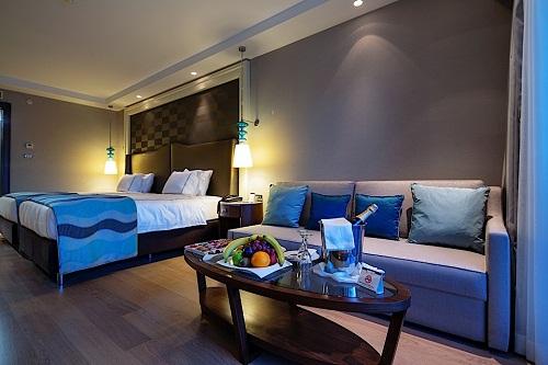 اتاق های استاندارد هتل تایتانیک دلوکس آنتالیا