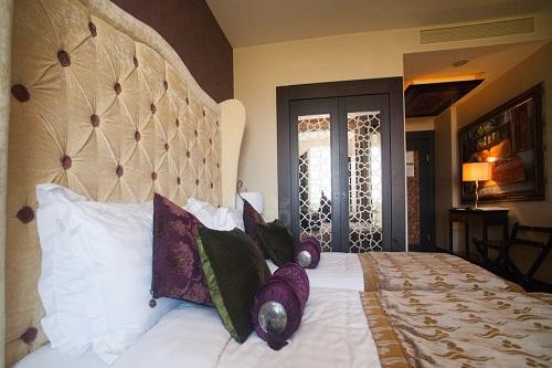 اتاق های استاندارد هتل مردان پالاس آنتالیا