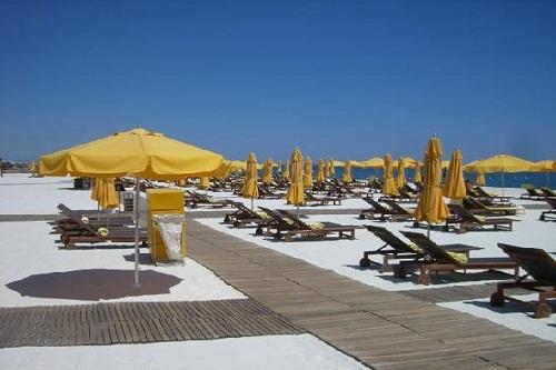 ساحل اختصاصی هتل مردان پالاس آنتالیا Mardan Palace