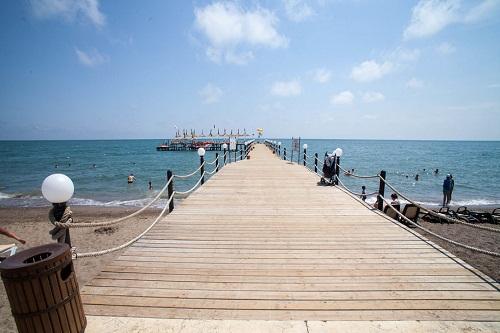 ساحل اختصاصی هتل وو کرملین