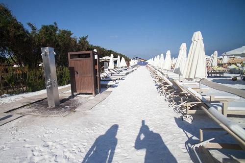 ساحل اختصاصی هتل مردان پالاس آنتالیا