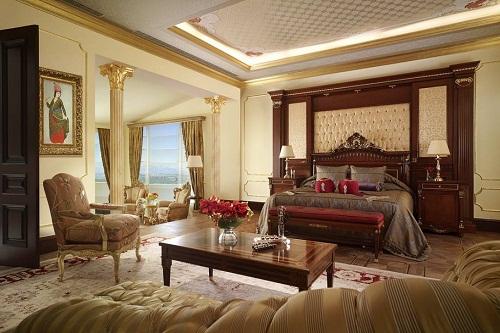 امکانات اقامتی هتل مردان پالاس آنتالیا Mardan Palace
