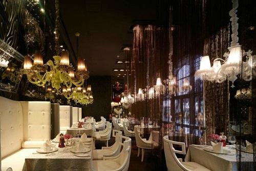 رستوران روسی Arbat Restaurant هتل مردان پالاس آنتالیا