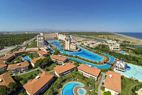استخر های هتل مردان پالاس آنتالیا Mardan Palace
