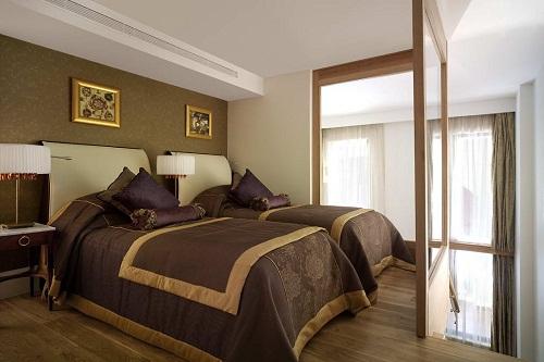 سوئیت های Grand Deluxe Dublex هتل مردان پالاس آنتالیا