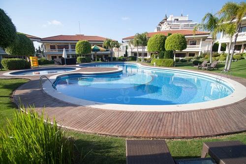 استخر سوئیت های VIP هتل مردان پالاس آنتالیا
