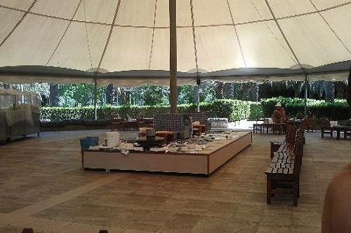 چادر ساحلی Turkish Tent هتل رویال وینگز آنتالیا