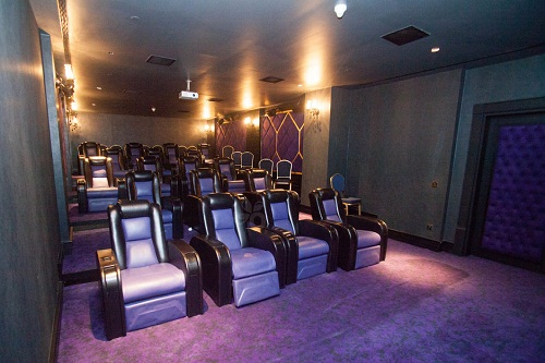 سالن سینما هتل مردان پالاس آنتالیا