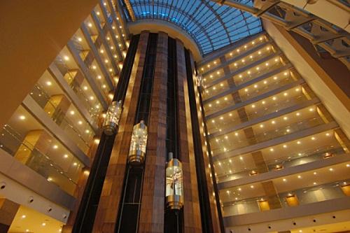 لابی هتل تایتانیک بیچ لارا آنتالیا