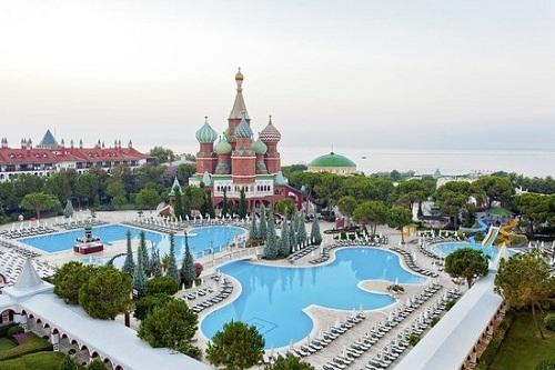 استخر های هتل وو کرملین آنتالیا WOW Kremlin Palace