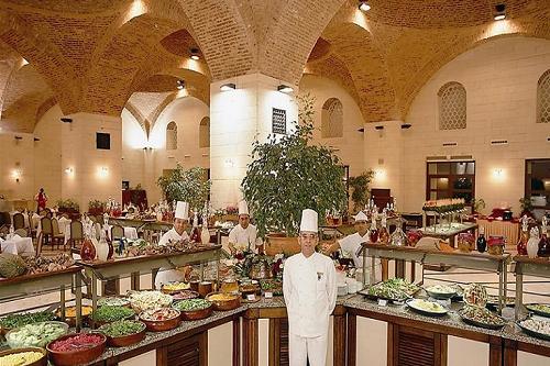 رستوران های هتل وو کرملین آنتالیا WOW Kremlin Palac