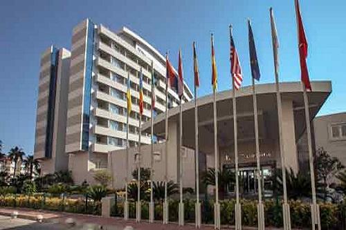 ورودی لابی هتل 5 ستاره پورتوبلو آنتالیا