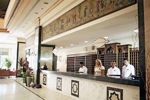 پذیرش هتل 5 ستاره وو توپکاپی آنتالیا