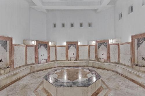 حمام ترکی در سالن ماساژ هتل توپکاپی آنتالیا