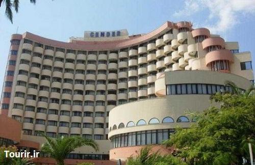 نمای بیرونی هتل سندر آنتالیا