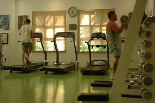 سالن تناسب اندام در سالن ماساژ هتل توپکاپی آنتالیا