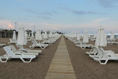 ساحل اختصاصی هتل باروت لارا